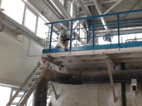 Строительство локальной установки по нейтрализации и очистке сточных вод._17